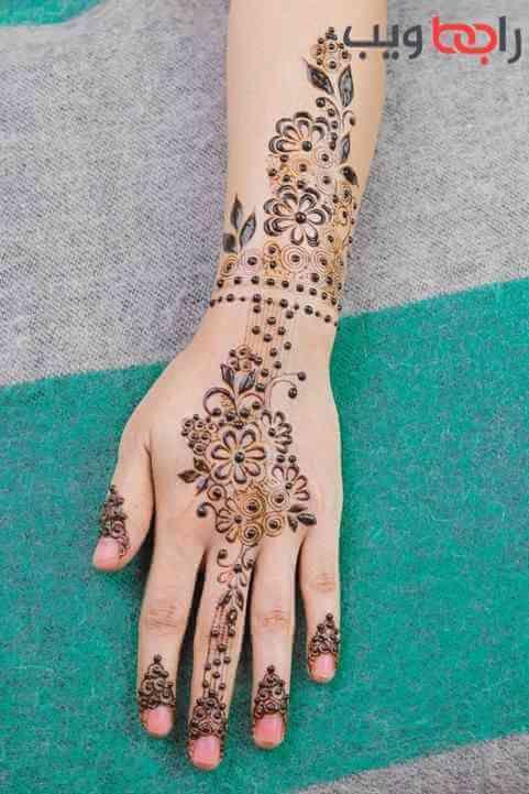 نقشة حناء ناعمة وبسيطة 2021 Mehndi Designs Mehndi Designs For Hands Henna Designs Hand