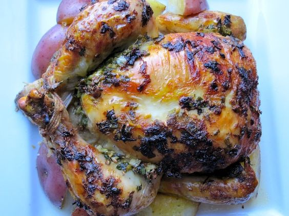 Cas, Roasted chicken and Protein on Pinterest
