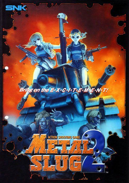 Metal slug 2 free download.