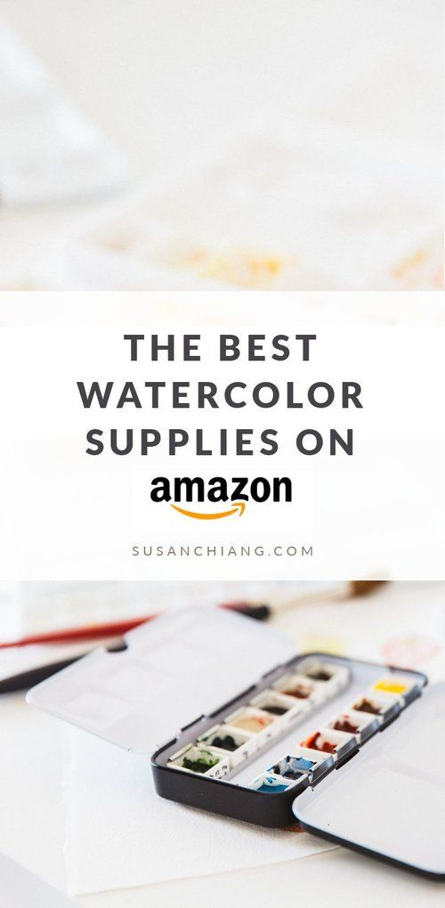 The Best Watercolor Supplies To Buy On Amazon Best Watercolor