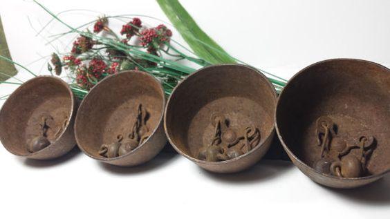 Antique 1860s-1900 Sleigh Steel Bells  Opened by DeeSweetNostalgia