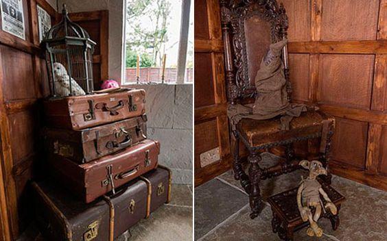 Minha Hogwarts, minha vida: Família transforma casa em castelo da saga Harry Potter - Você - CAPRICHO