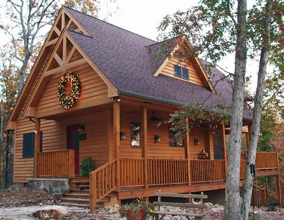 Beautifully Quaint Cabin Floor Plan This cozy 2 story Cabin house ...