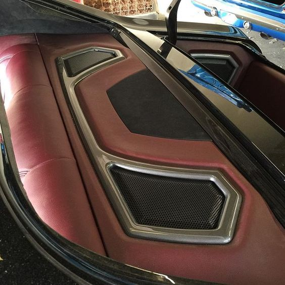 Instagram analytics grey interiors and decks for Car interior door panel designs
