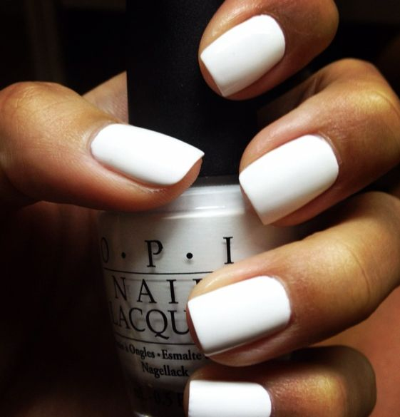 Opi - Alpine snow Looking for the perfect White nailpolish with FULL cover! I WOULD TRY THIS,