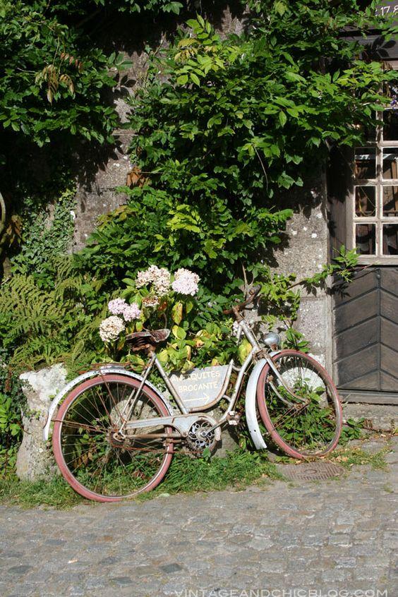 VINTAGE & CHIC: decoración vintage para tu casa [] vintage home decor: Estilo y arte a dos ruedas [] Stylish & creative cycling