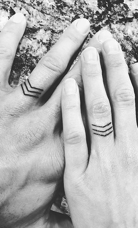 Pin By Marta Casals On Beautiful Body Art Wedding Ring Finger Tattoos Ring Tattoo Designs Tattoo Wedding Rings