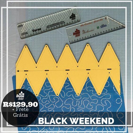 Porque você merece os melhores preços e Frete Grátis.  BLACK WEEKEND no site http://ift.tt/1IE4Gyz  Vários combos com valores promocionais.  O valor original desse combo é de R$16670 e está por R$12990.  Para ver os outros combos acesse: http://duna.vc/semanadeofertas  #DunaAtelier #Costura #Patchwork #Quilt
