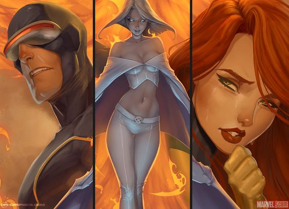 Astonishing X-Men details, by Kai on DeviantArt.