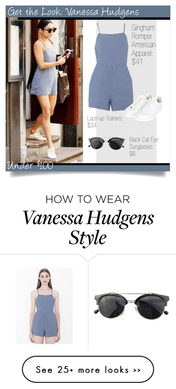 """""""Get the Look: Vanessa Hudgens"""" by in-genue on Polyvore"""