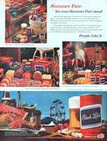 Carling Black Label Beer Cans 1962 Ad Picture