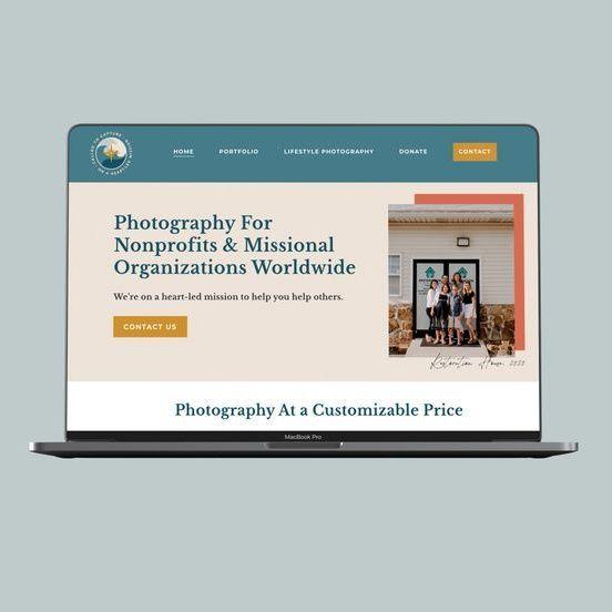 Nonprofit Website Design Idea Called To Capture In 2020 Nonprofit Website Design Branding Website Design Website Design