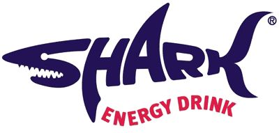 This is a smart logo for Shark, a kind of energy drink. Looks kind of menacing, too.
