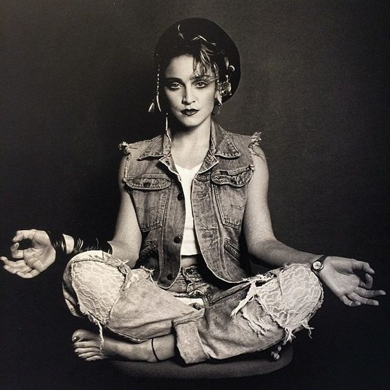 Madonna, New York City, 1980's. Photo by Marcus Leatherdale. Limited Edition Custom Prints now available via La Petite Mort Gallery only. More info & prices, go to...