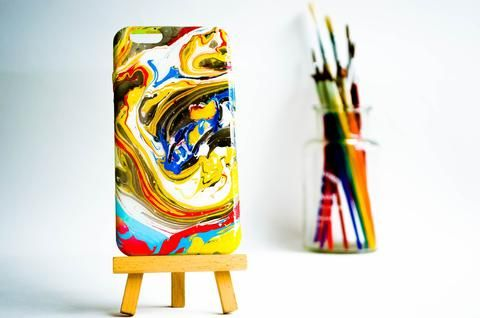 "iPhone 6 6s  Case Cover Abstract Handmade  £4.99 use discount code ""pinterest123"" to get 10% off at checkout"