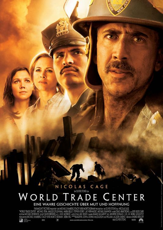World Trade Center Movie : one of the few movies that seems to treat 9/11 with dignity and respect.