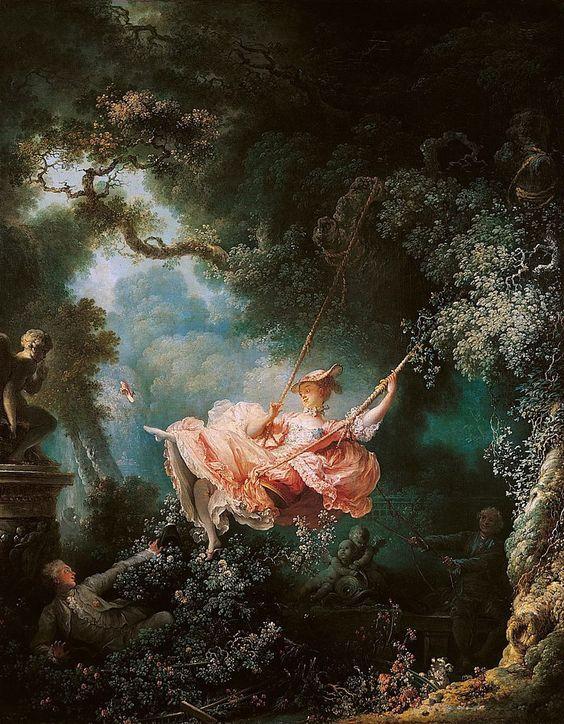 The Swing By Jean Honore Fragonard 1767