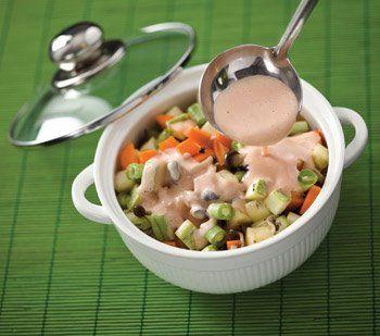 (v) estrogonofe de lrgumes c ml de tofu