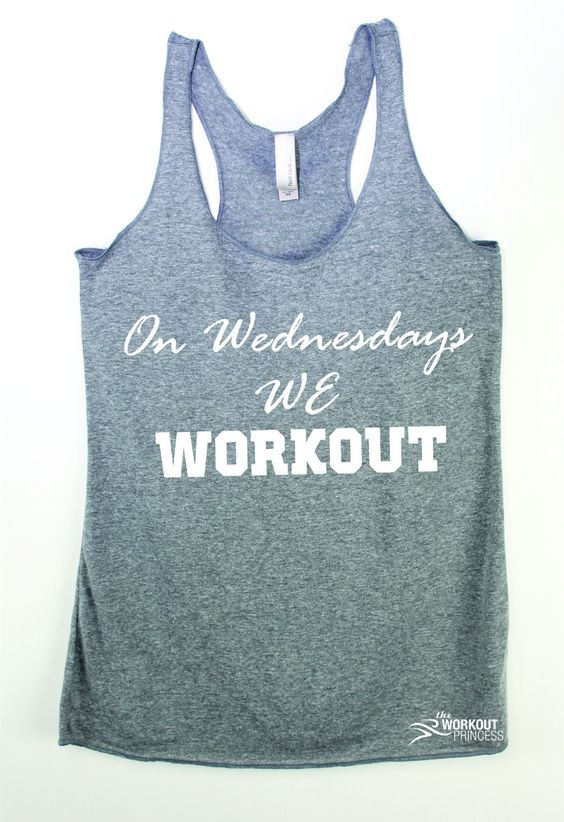 On Wednesdays we workout, mean girls inspired. whether you're running, doing…