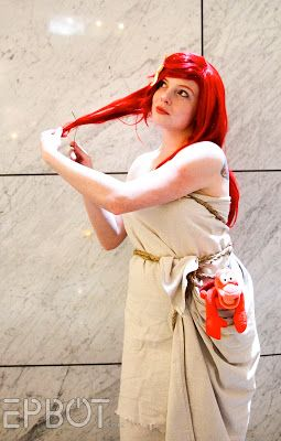 EPBOT: Dragon Con '13: The Best Cosplay, Part 1 - shipwrecked Ariel, complete with fork! :)