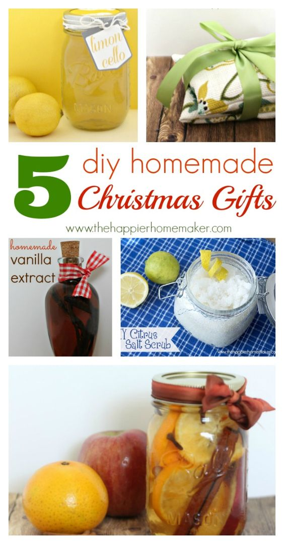 We Love These 5 Diy Homemade Christmas Gifts From Www