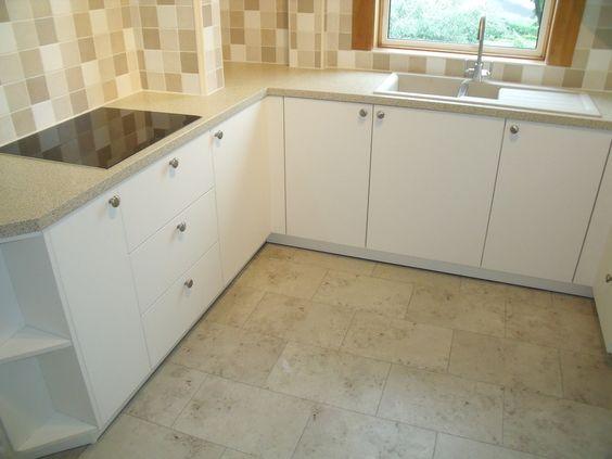 marmoleum rectangular tiles offset. Black Bedroom Furniture Sets. Home Design Ideas