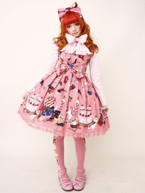 Sweet Lolita Lolita Fashion And Angelic Pretty On Pinterest