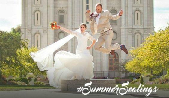 Participe do concurso #SummerSealings! Saiba mais em: http://mormonsud.net/artigos/vida-mormon/cultura-mormon/concurso-summersealings/