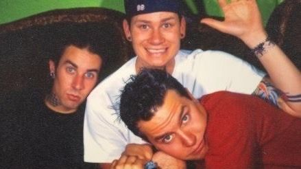 Blink 182  They are just so cute