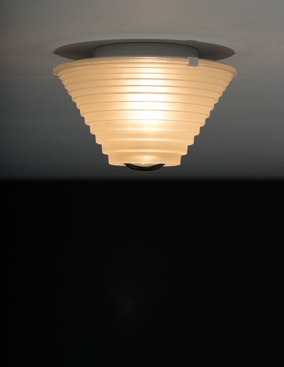 Angelo Mangiarotti Egina ceiling light Artemide | 20th century Modern online gallery. Featuring a large and varied selection of quality vintage pieces | Shipping worldwide | http://www.furniture-love.com/browse.php
