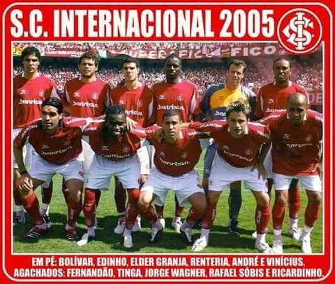 Sc Internacional Of Brazil Team Group In 2005 Sc Internacional Futebol Brasileiro Futebol