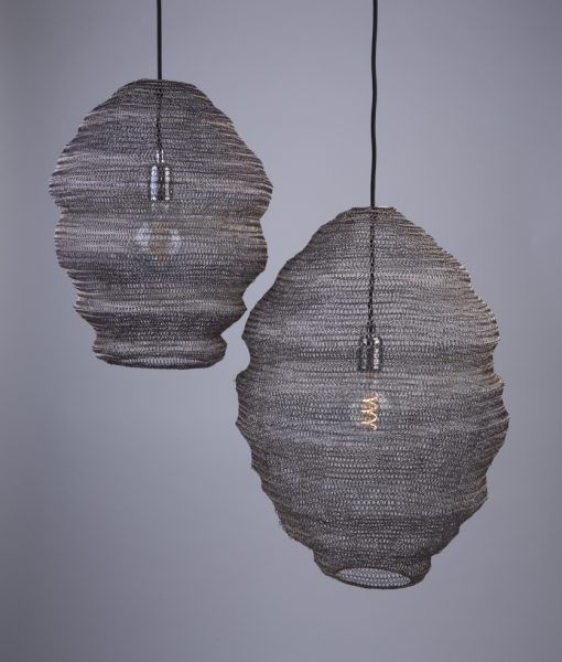 1 Light Small mesh chandelier creative luxury cafe lounge