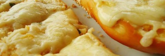 Receita de Pão de alho com queijo - Receitas Supreme