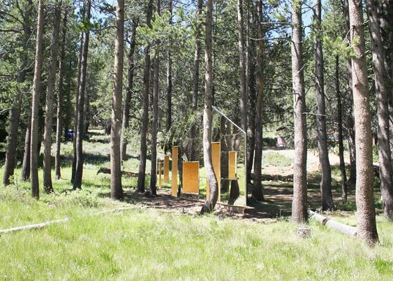 Invisible Barn is a mirror-clad cabin camouflaged among trees