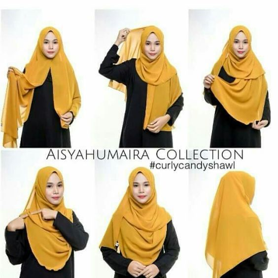 Comment Mettre Porter Le Hijab Hijab Style Tutorial Hijab Style Casual Stylish Hijab