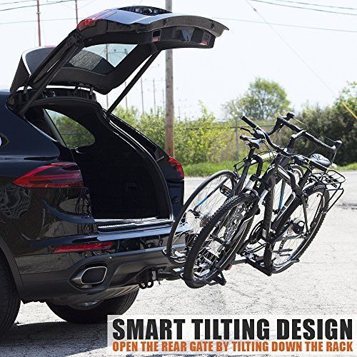 Bv Bike Bicycle Hitch Mount Rack Carrier For Car Truck Suv Tray