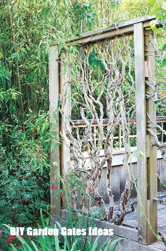 dreamy woodland decor to try better homes gardens.htm top 10 diy garden gates ideas  with images  garden gates  garden  top 10 diy garden gates ideas  with