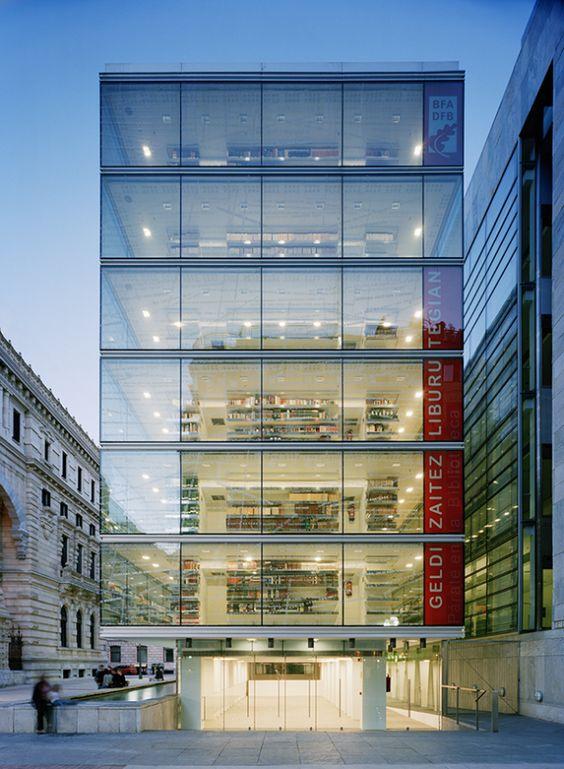 Biblioteca - Bilbao - Espanha