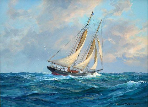 Charles Vickery: Original Paintings: Item# 18818A: