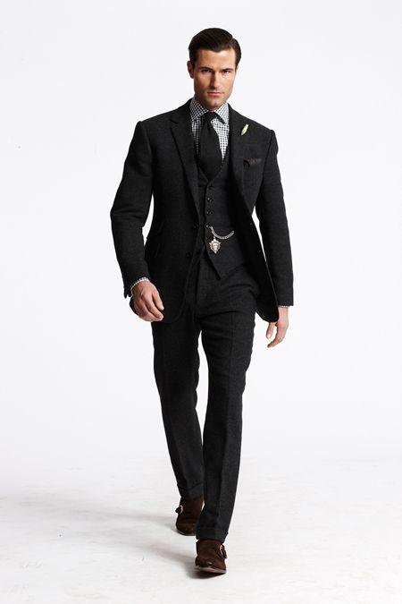 all black suit vest - photo #10
