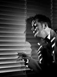 film noir detective office - Google Search