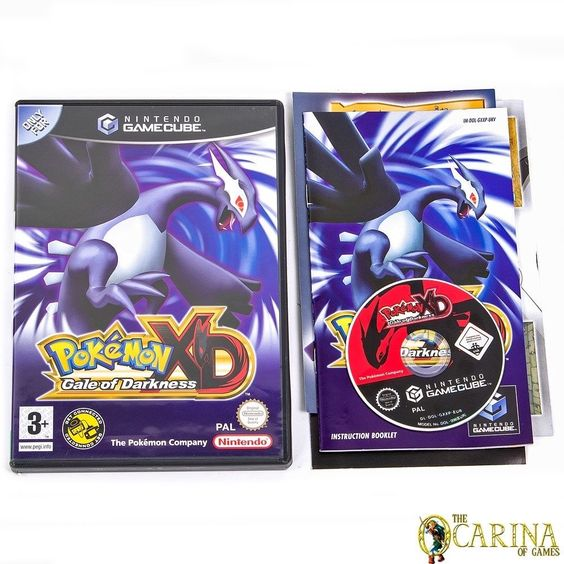 Pokemon xd gale of darkness nintendo gamecube game case uk pal vgc in video games consoles - Gamecube pokemon xd console ...