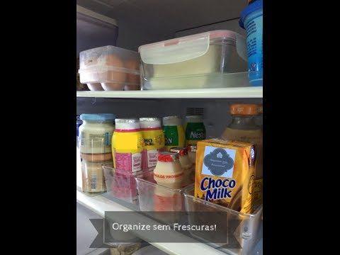 Dicas de limpeza e organização da geladeira