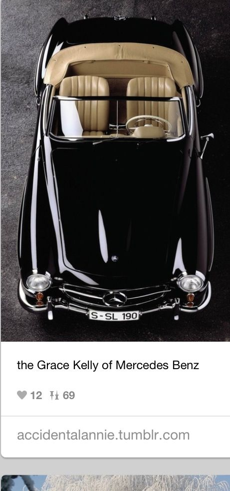 Fab vintage Mercedes, for your something borrowed or something old, find a vintage Mercedes or car you and your husband can ride away in