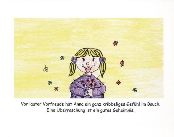Kinderbuch Gute Geheimnisse, schlechte Geheimnisse von Erziehershop auf DaWanda.com