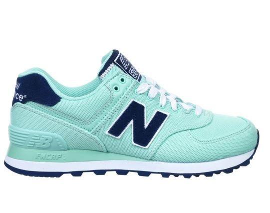 zapatillas new balance verde agua