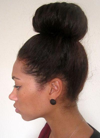 High Bun Hairstyles For Black Hair: African american hairstyles ...