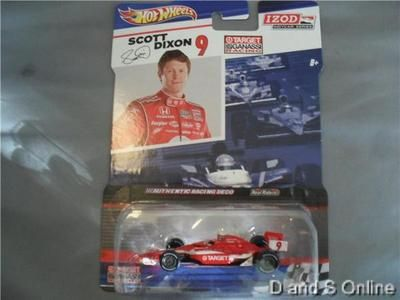 HOT WHEELS SCOTT DIXON #9 TARGET IZOD INDYCAR SERIES