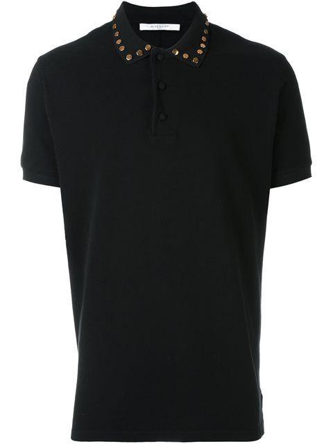 Givenchy studded polo shirt