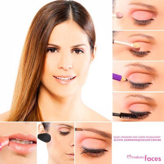 Na duvida de como se maquiar para trabalhar?! Esse tutorial vai lhe ajudar!
